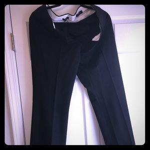 LOFT Pants - Loft black trouser NWOT